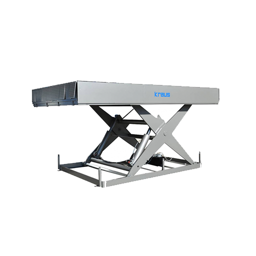 Dock lift table